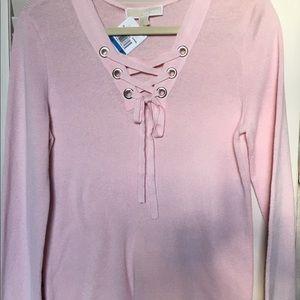 Michael Kors pink sweater
